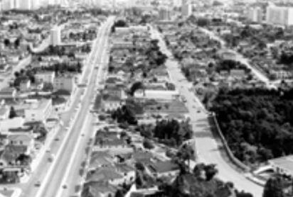 Gambar 7:  Kondisi Kota Curritiba pada Tahun 1974