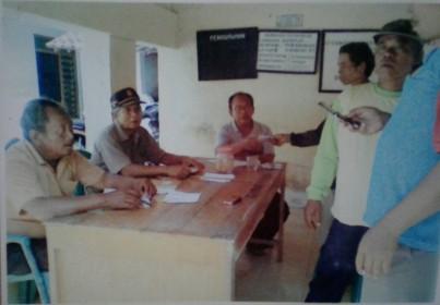 Foto Diskusi Pengurus